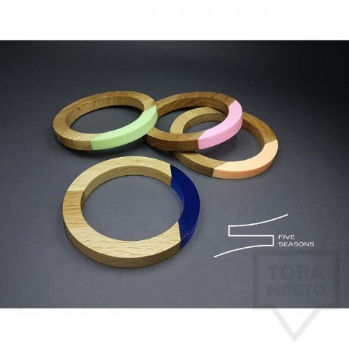 Дизайнерска гривна Five seasons - colorfullness