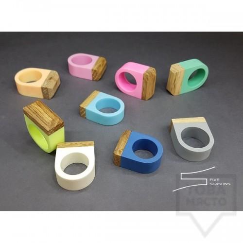 Дизайнерски пръстен Five seasons - colorfullness