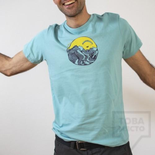 Мъжка тениска Almost a Brand - Fly the Earth blue