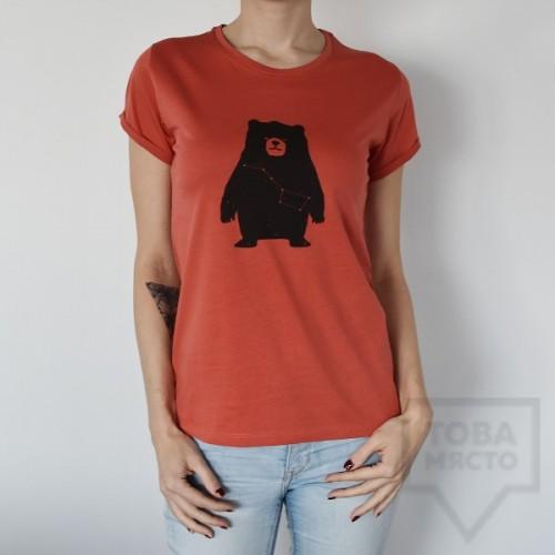 Дамска тениска Almost a Brand - The Big Мечо red