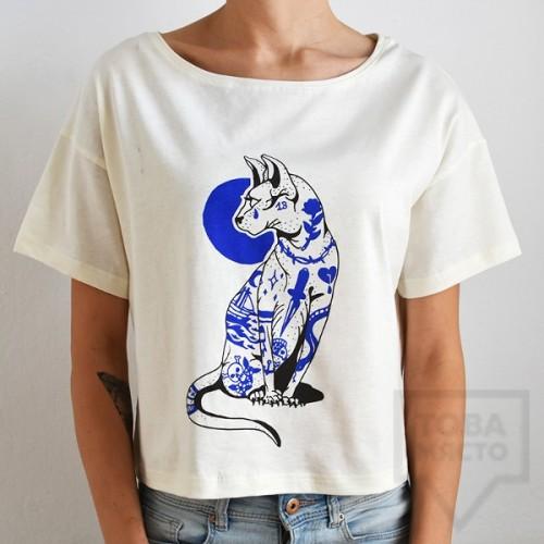 Дамска тениска Crop Almost a Brand - Сфинкс