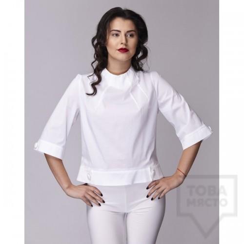 Дамска риза Амбиция - Лъчи white