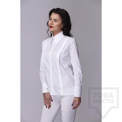 Дамска риза Амбиция - Таня white