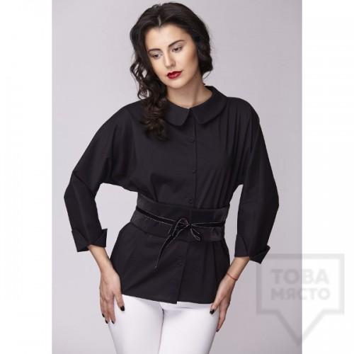 Дамска риза Амбиция - Прилеп black