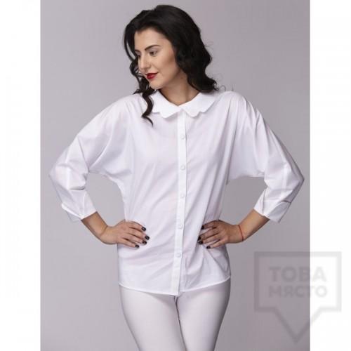 Дамска риза Амбиция - Прилеп white