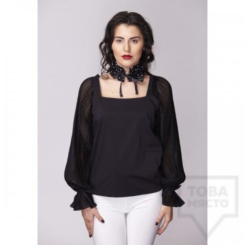 Дамска риза Амбиция - Солей black