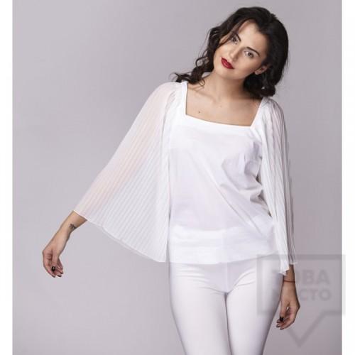 Дамска риза Амбиция - Солей white
