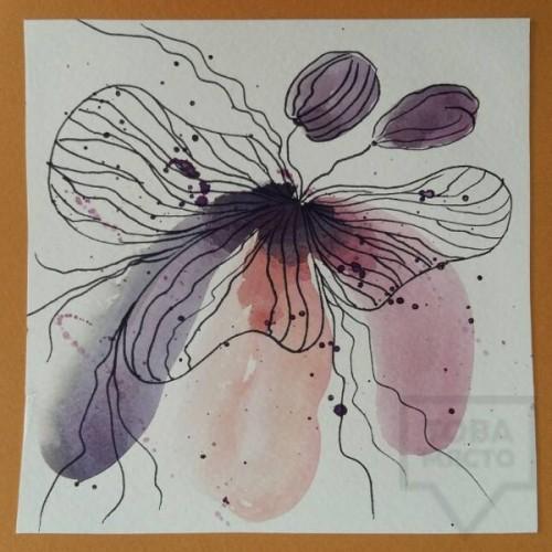 Ръчно изработена картичка Art Raft - Абстракция