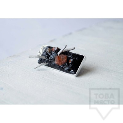 Брошка Asia Petrova Jewelry - clear mind and pure memory