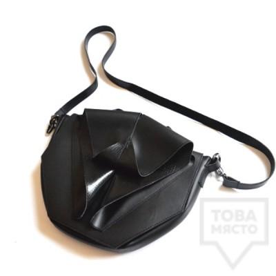 Дамска чанта Attitude157 - baby origami black
