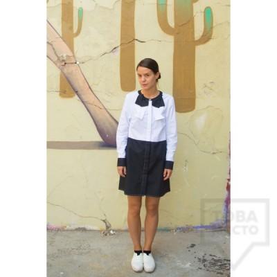 Дамска риза Attitude157 - Callista Black & White