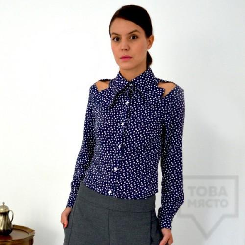 Дамска риза Attitude157 - avar blue