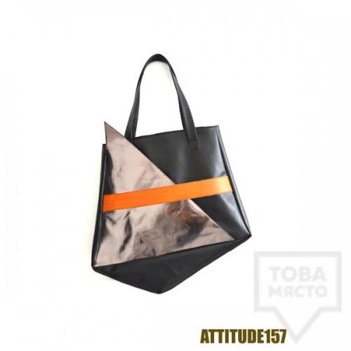 Дамска чанта Attitude157 - geometric new