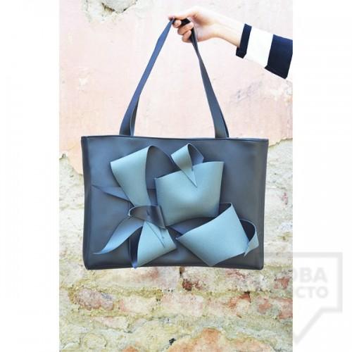 Дизайнерска дамска черна чанта Attitude157 - Ambrosio