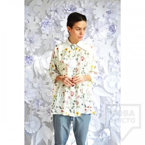 Дизайнерска риза Attitude157 - Flora