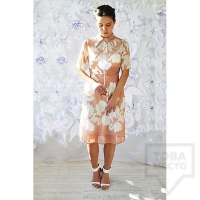 Дизайнерска рокля Attitude157 - Darcey Pink