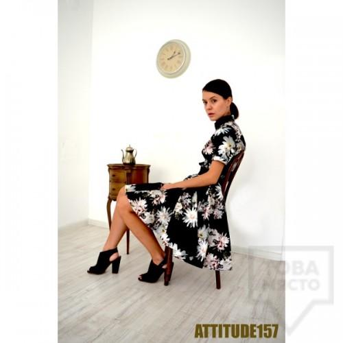 Дизайнерска рокля Attitude157 - darcey flowers
