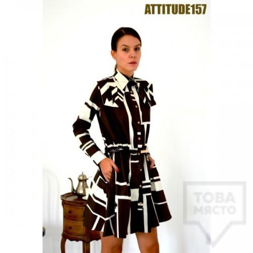 Дизайнерска рокля Attitude157 - ira