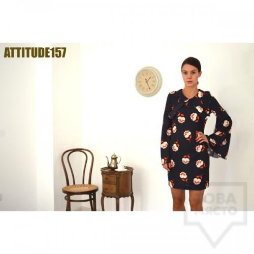 Дизайнерска рокля Attitude157 - sara