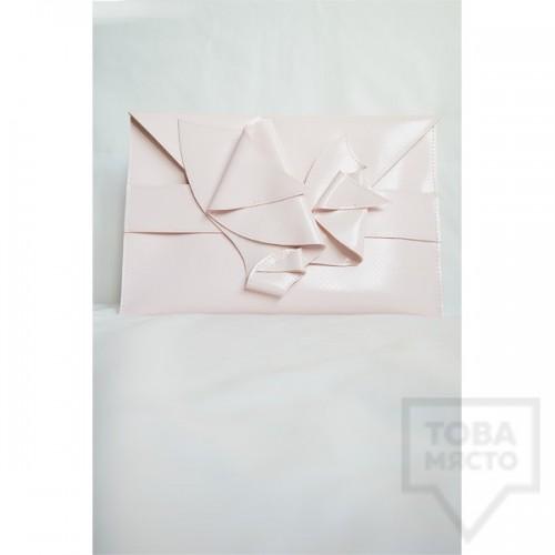 Дизайнерски клъч Attitude157 - Azartius Pink