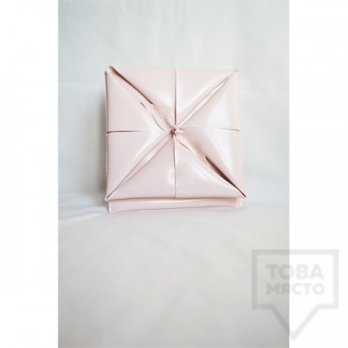 Дизайнерски клъч Attitude157 - Origami Pink