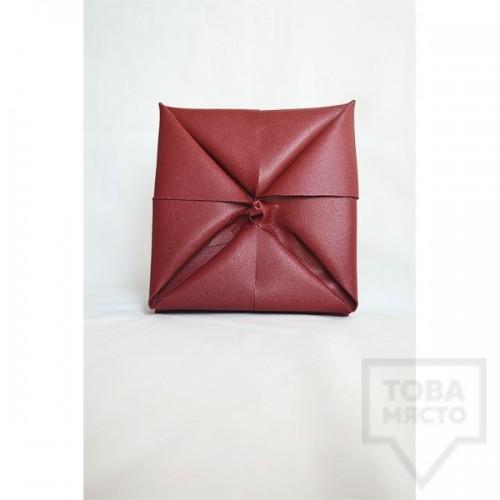 Дизайнерски клъч Attitude 157 - Origami Red