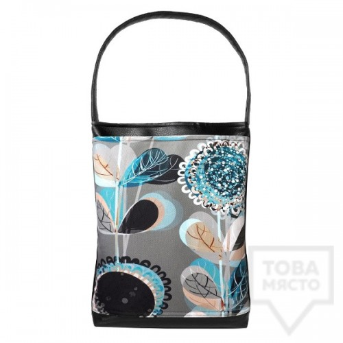 Дамска чанта Bardo - Blue Flowers