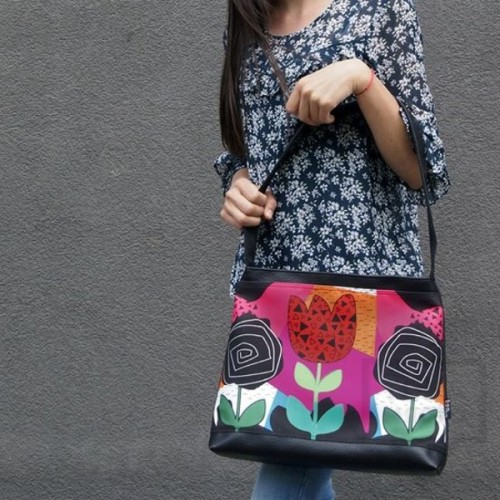 Дамска чанта Bardo - Colorful emotion