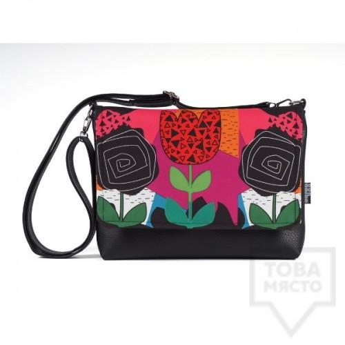 Малка дамска чанта Bardo - Colorful emotion