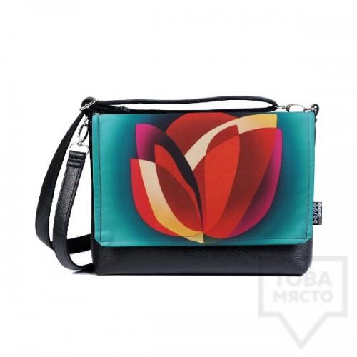 Малка дамска чанта Bardo - Lotos