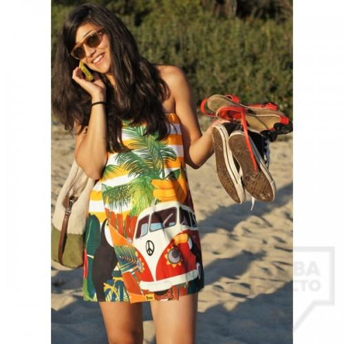 Дизайнерска плажна туника Bunga - Aloha