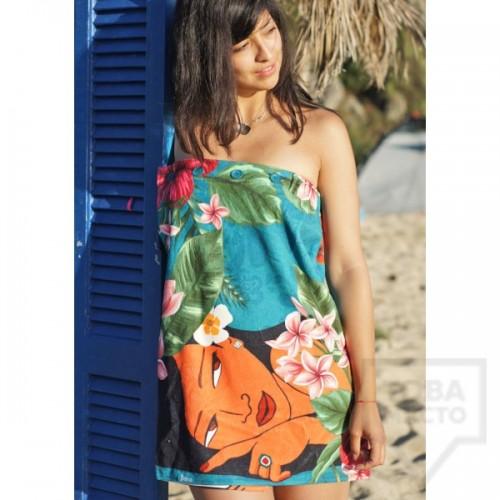 Дизайнерска плажна туника Bunga - Hawaiian Girls