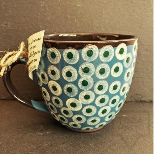 Ръчно изработена керамична чаша CeramicsS-Индия