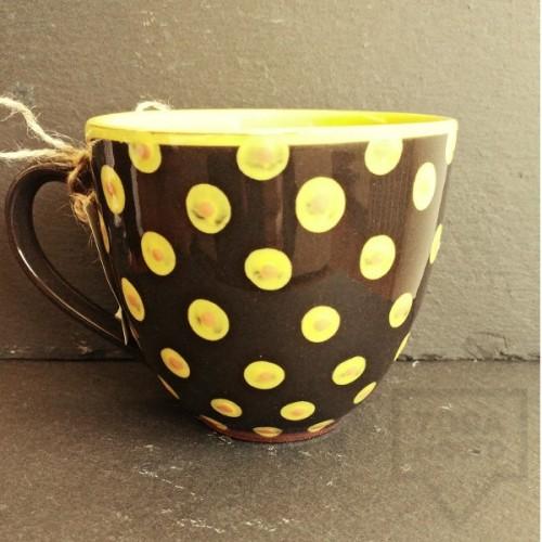 Ръчно изработена керамична чаша CeramicsS - Пчеличка