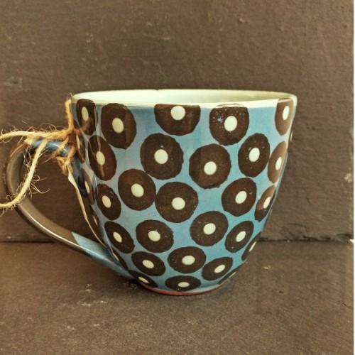 Ръчно изработена керамична чаша CeramicsS - Хималаи