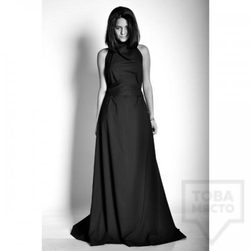 Дизайнерска асиметрична рокля Experiment - both ways