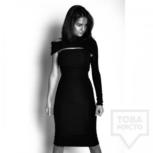 Дизайнерска рокля Experiment - elegance