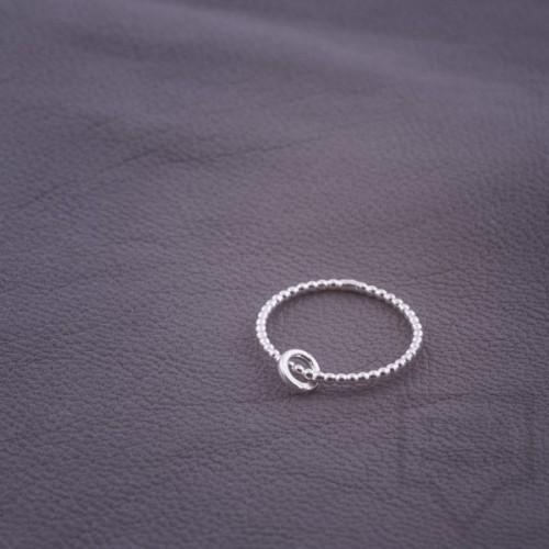 Сребърен пръстен Feelosophy-мини кръг