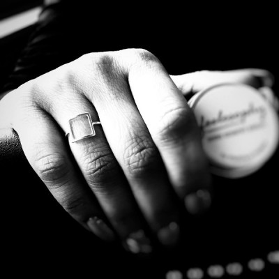 Сребърен пръстен Feelosophy - квадрат