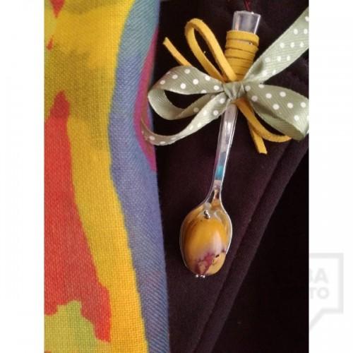 Брошка Forcella Fabbrica - Yellow Stone