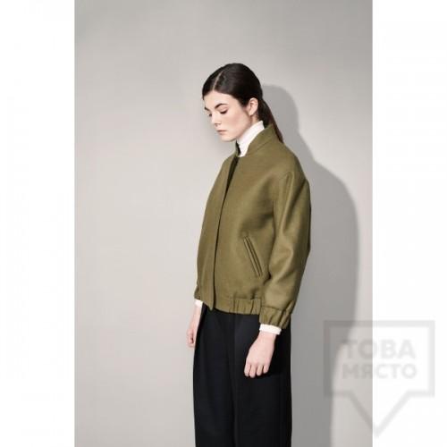 Дизайнерско яке Garderob - Green Pastel