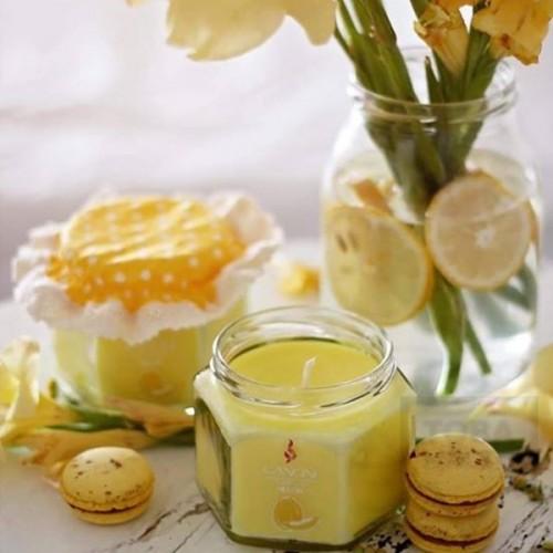 Ръчно изработена свещ Gancini - буркан