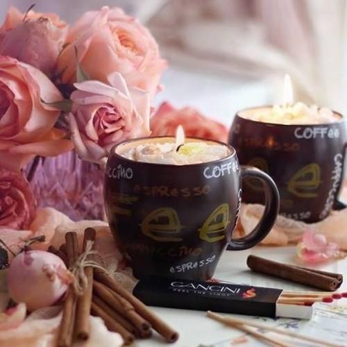 Ръчно изработена свещ Gancini - coffee dream