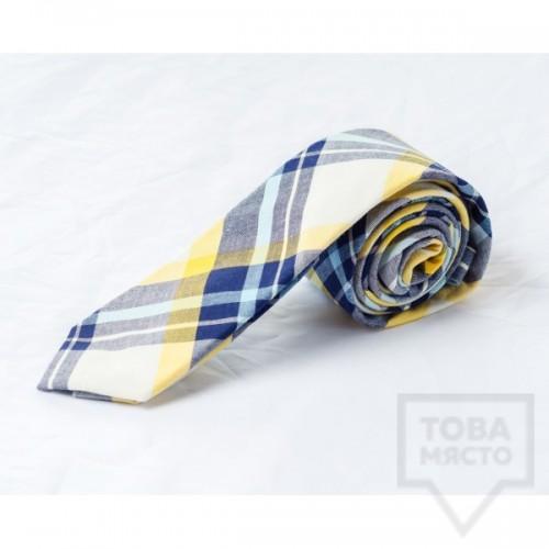 Мъжка вратовръзка J.Griffin-yellow homie