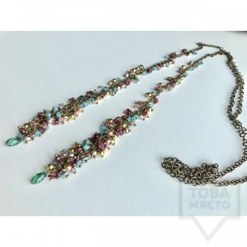 Ръчно изработено колие Jewelry by Emiliya - Antique