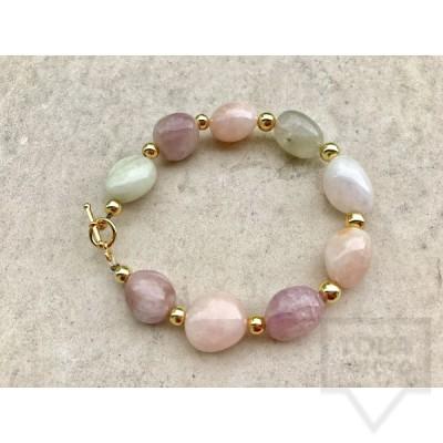 Ръчно изработена гривна Jewelry by Emilya-pastel energy