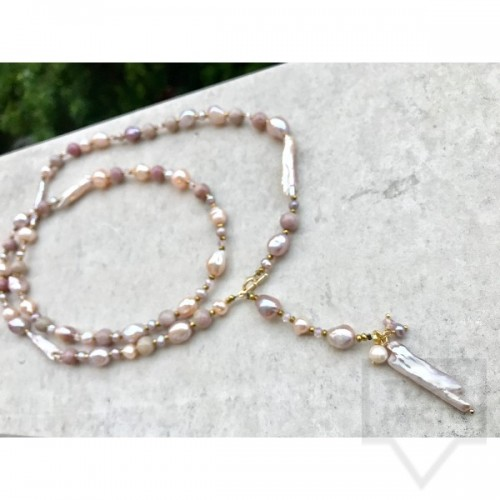 Ръчно изработено колие Jewelry by Emilya-river goddess