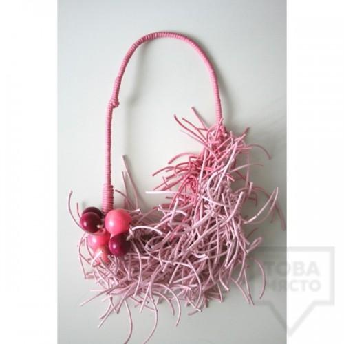 Дизайнерско колие KaYo - розово