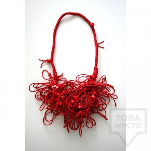 Колие KaYo - red