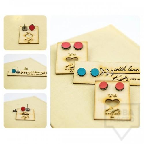 Ръчно изработени обеци Kats Jewerly - Colorful Drops
